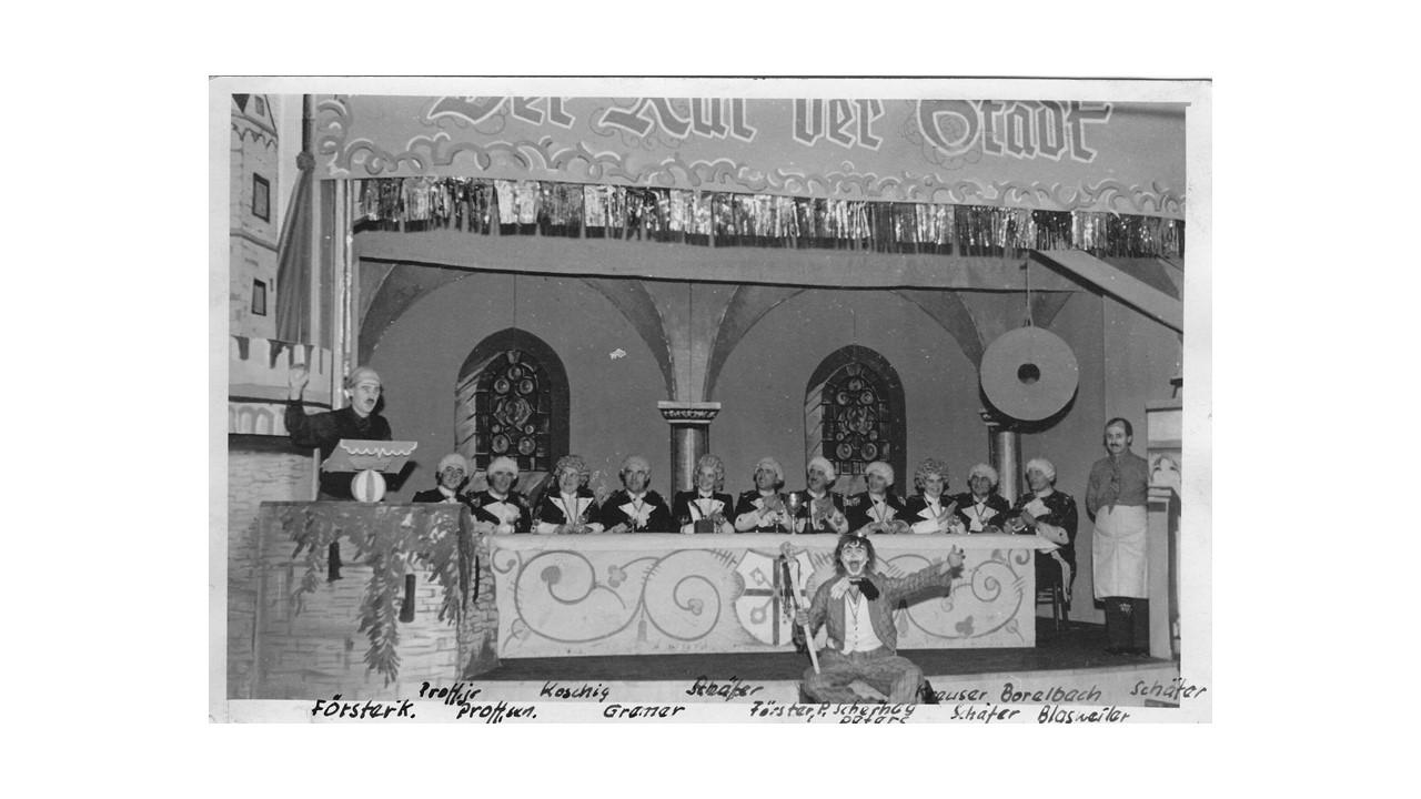 Bühnenbild von 1949