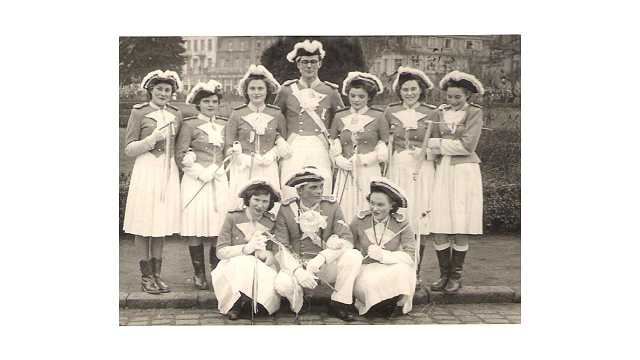 Gardetanzgruppe 1950er